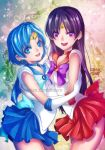 Sailor Mercury and Sailor Mars by iamtabbychan