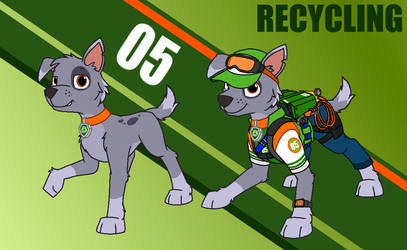 PAW Patrol: Rocky Redesigned by nobodyherewhatsoever