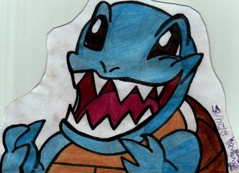 #007 Squirtle by JustANerd47