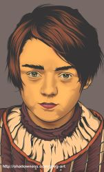 Arya Stark by greg-arts