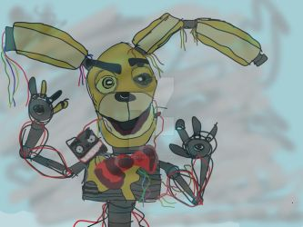 Hi Purpple Guy Its Buster Can We Play by Binaryrobot