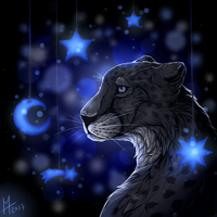 Touch the Stars | Personal Art [+SPEEDPAINT] by Icarust