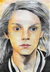 Evan Peters Quicksilver by Erinthe3rd
