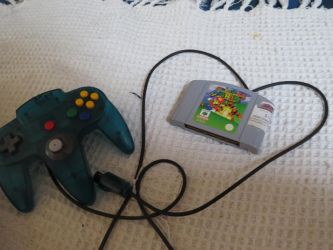 my frist console n64 by tezzy-101