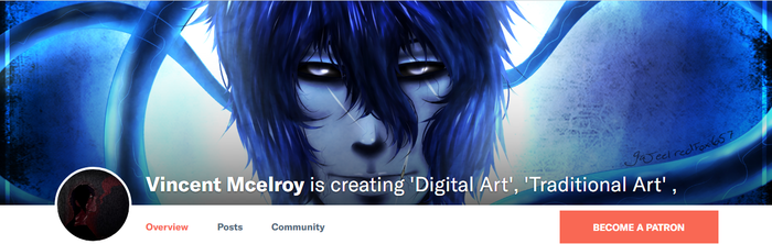 I have a Patreon by Purplekiller657