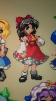 Touhou Character 12 - Reimu Hakurei by MagicPearls