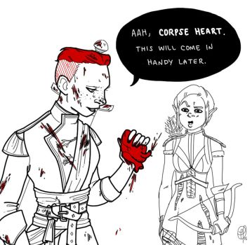 Hoarders: Dragon Age Edition by cesca-specs