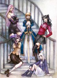 Fate Stay Night -color- by jurithedreamer