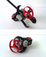 Rhotuka Tri-Claw - Weapon - Bionicle MOC by Crimson-eyed-sermon