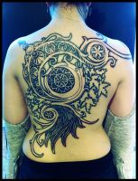 World of Warcraft Moongoddess tattoo by Meatshop-Tattoo