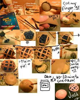 How to make pies by kayanah