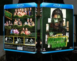 WWE Money in the bank 2015 Custom blu-ray cover by LilouFranchise