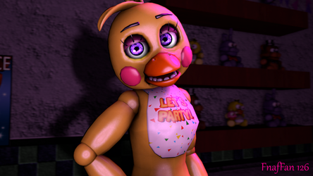 Toy Chica (Purple Eyes) by Fnaf-Fan126
