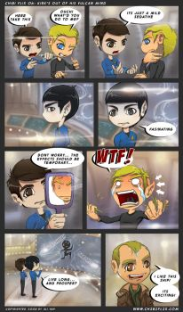 kirks out of his vulcan mind by ChibiFlix