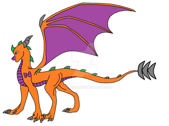 Eragon (From Side) by novoeric