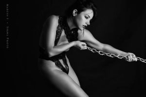 Ribbon and Chains by SpawlPhoto