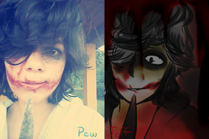 Jeff the Killer//cosplay xD by Dream-Yaoi
