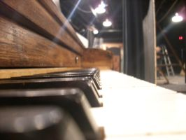 Piano Keys on Stage by trebory6