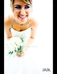 the bride. by yazn
