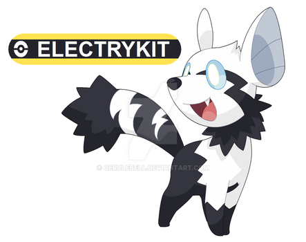 Commission: Electrykit for pokefan-22 by Cerulebell