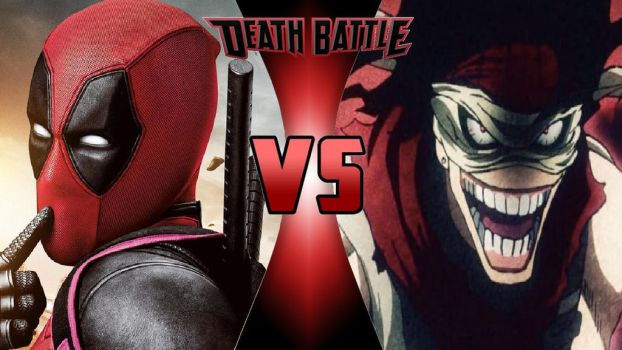 Deadpool vs. Stain by OmnicidalClown1992