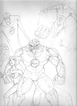 Fantastic Four by MicktheUnbelievable