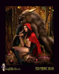 EROTIC RED RIDING HOOD by SassyCatModels