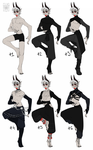 Avalanche's Outfits by LiLaiRa