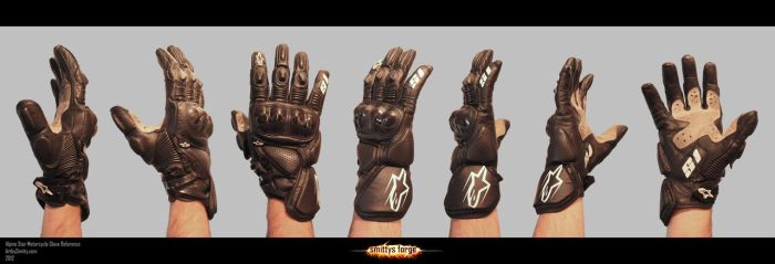 Reference - Motorcycle Glove by Art-by-Smitty