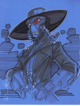 Cad Bane by Hodges-Art