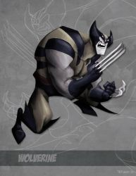 The Wolverine by TedKimArt