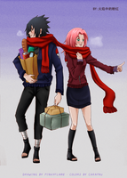 SxS: shopping with the Uchihas by carapau