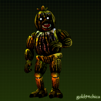 Tell me I'm pretty! (Phantom Chica) by gold94chica