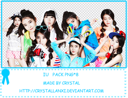 iu   Pack  Png*8 by Crystallanxi