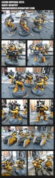 Legion Imperial Fists - Heavy Infantry by VangarShriek