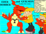 Eder and Guilmon tick by MalortComics785