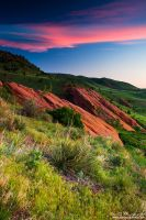Colors Of A Colorado Spring Sunrise by kkart