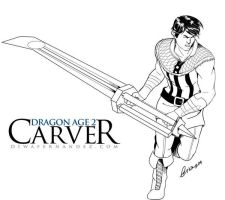 Carver Hawke by madcoffee