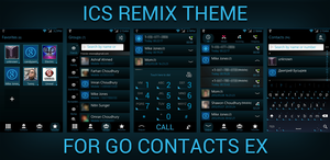 Go Contacts ICS Remix Theme by retareq