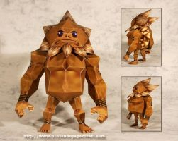 Darunia Papercraft by Drummyralf