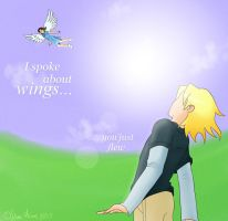 I spoke about wings... by kidliquorice