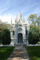 Mount Olivet Cemetery Mausoleum 212 by Falln-Stock