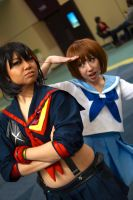 Mako and Ryuko Kill La Kill at MTAC! #5 by Lightning--Baron