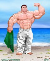 Stump by NMRosario flexing by Blathering