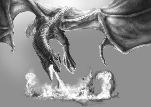 Dragon - WIP by franeres