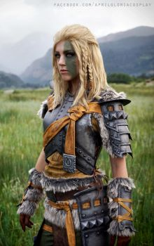 Mjoll the Lioness cosplay by aprilgloriacosplay