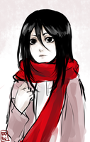 little mikasa by Bejowish