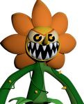 [Cuphead] Cagney Carnation Phase 3 by AustinTheBear