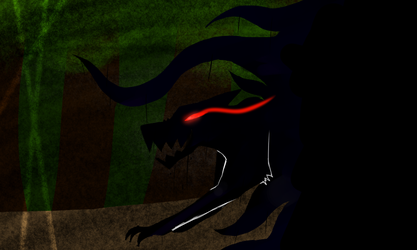 everywhere the creature went darkness arrived by Barbar0101