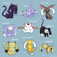 Variant Incubator Breeds by ErinPtah